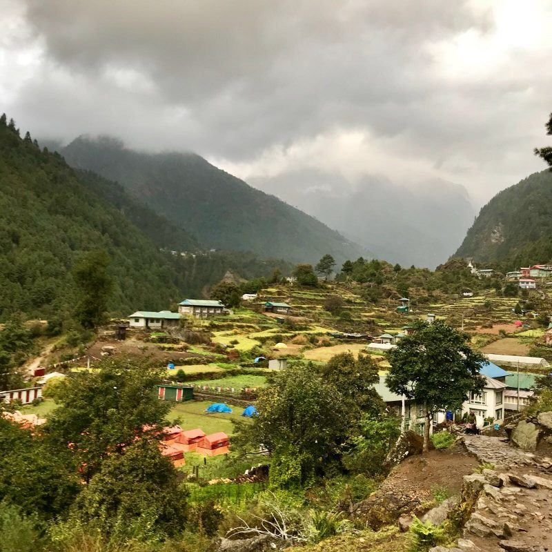 Lush Nepalese landscapes