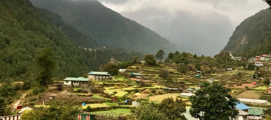 Lush Nepalese landscapes